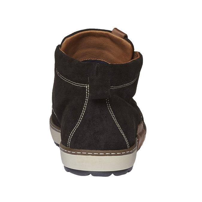 Leather Sneakers napapijri, hnědá, 893-4008 - 17