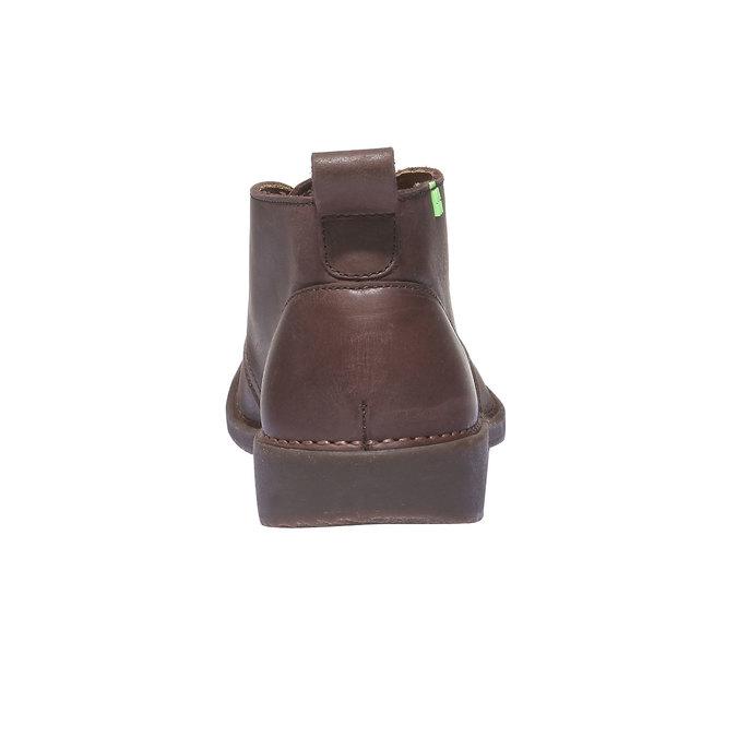 Leather Chukka Boots el-naturalista, hnědá, 826-4013 - 17