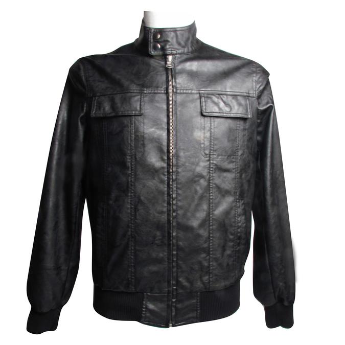 Pánská bunda bata, černá, 971-6575 - 13