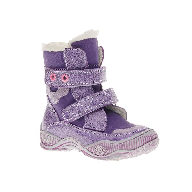 dětské zimní boty mini-b, fialová, 194-9100 - 13