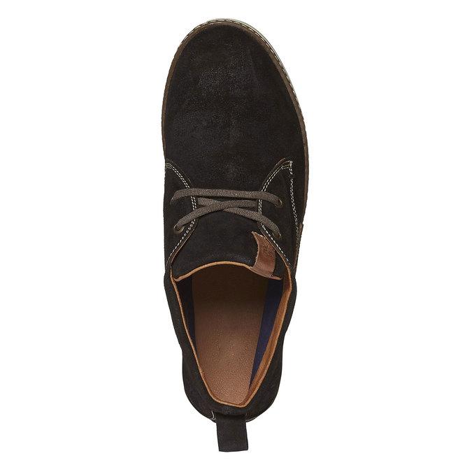 Leather Sneakers napapijri, hnědá, 893-4008 - 19