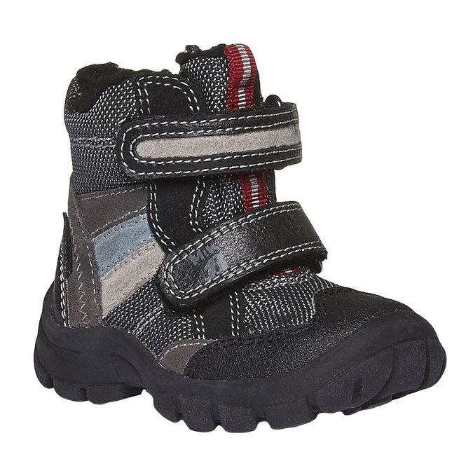 Kids shoes mini-b, šedá, 199-2102 - 13