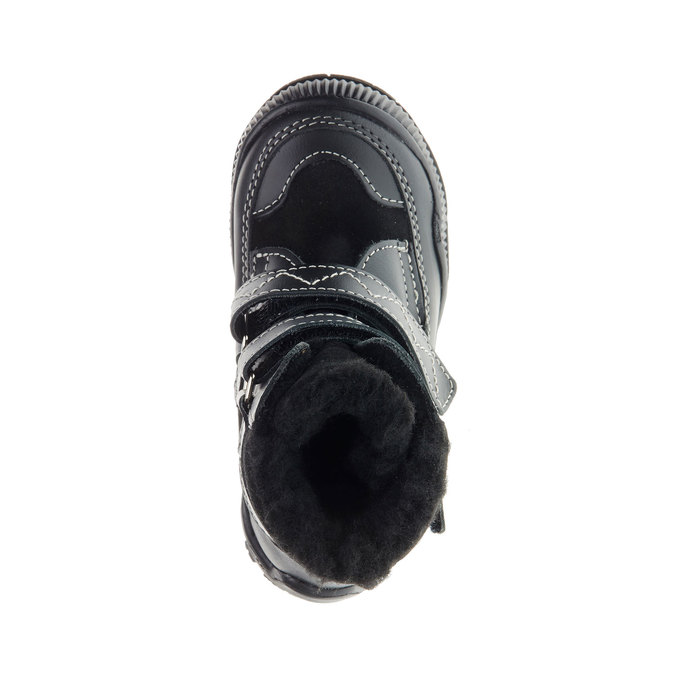 Dětské zimní boty mini-b, černá, 194-6100 - 19