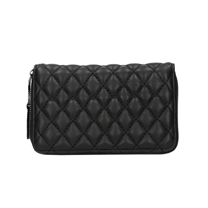 Dámská prošíváná peněženka bata, černá, 941-6135 - 19