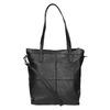 Kožená kabelka s odnímatelným popruhem bata, černá, 964-6234 - 19