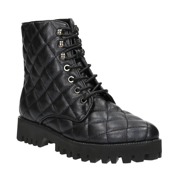 Dámská kotníčková obuv bata, černá, 591-6614 - 13