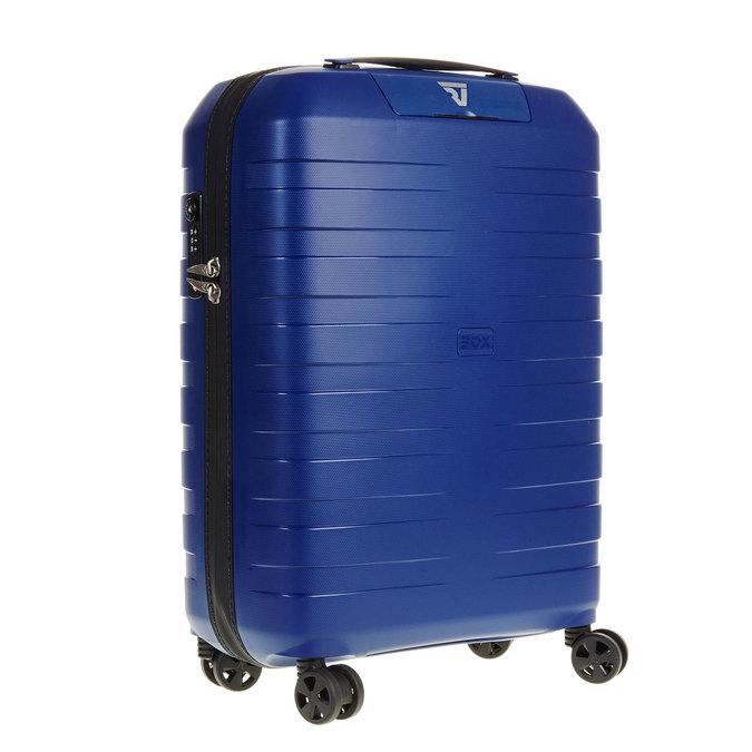 Modrý kufr na kolečkách roncato, modrá, 960-9605 - 13