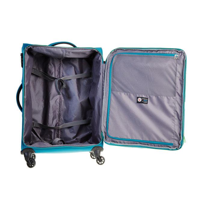 Modrý cestovní kufr roncato, tyrkysová, 969-7637 - 15