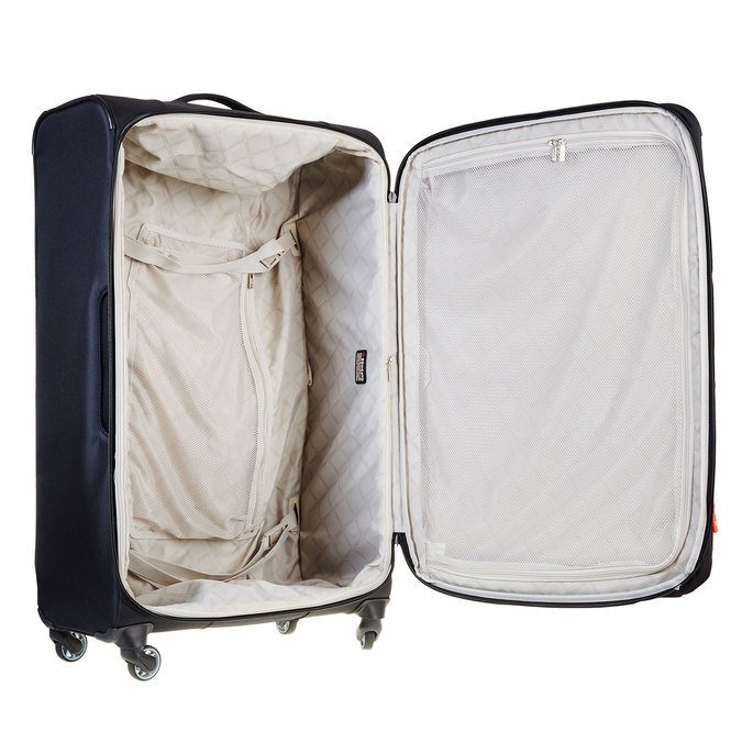 Černý kufrt na kolečkách roncato, černá, 969-6632 - 15