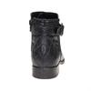 Kožená kotníčková obuv bata, černá, 594-6167 - 17