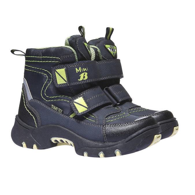 Kids shoes mini-b, modrá, 299-9144 - 26