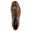 Kožené kotníčkové polobotky bata, hnědá, 894-4646 - 19