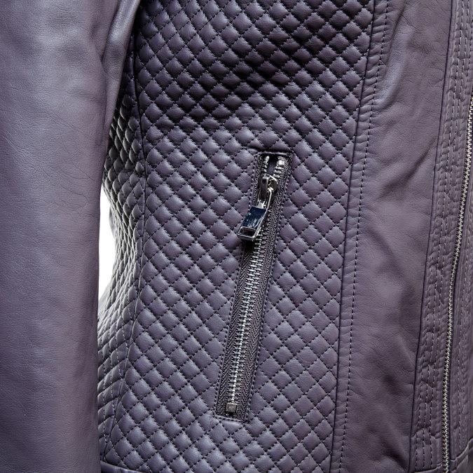 Dámská bunda s prošíváním bata, šedá, 971-2183 - 16