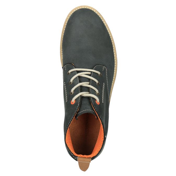 Pánské kožené chukka boots weinbrenner, modrá, 846-9629 - 19