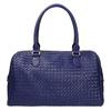 Bowling kabelka s propleteným vzorem bata, modrá, 961-9629 - 19