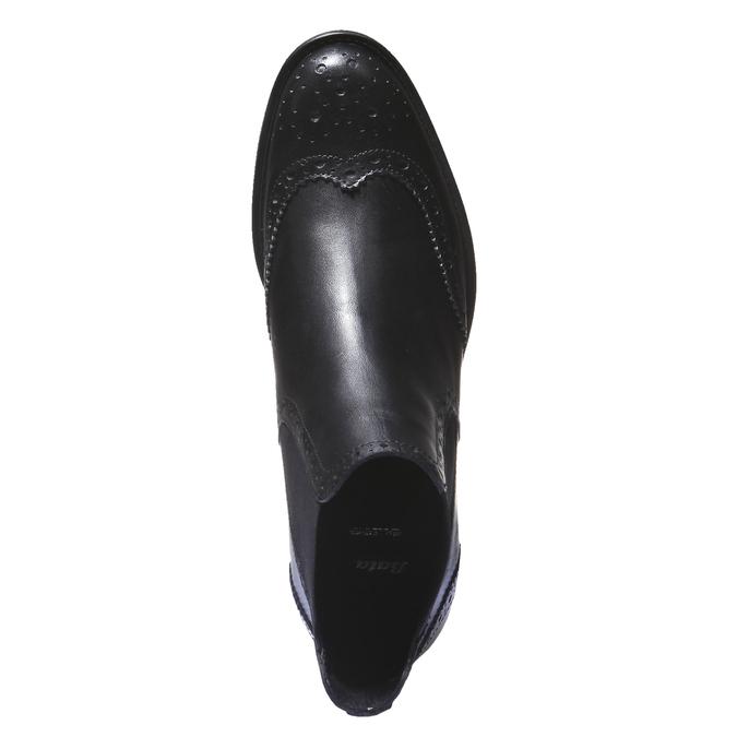 Kotníčková obuv v Chelsea střihu bata, černá, 594-6532 - 19