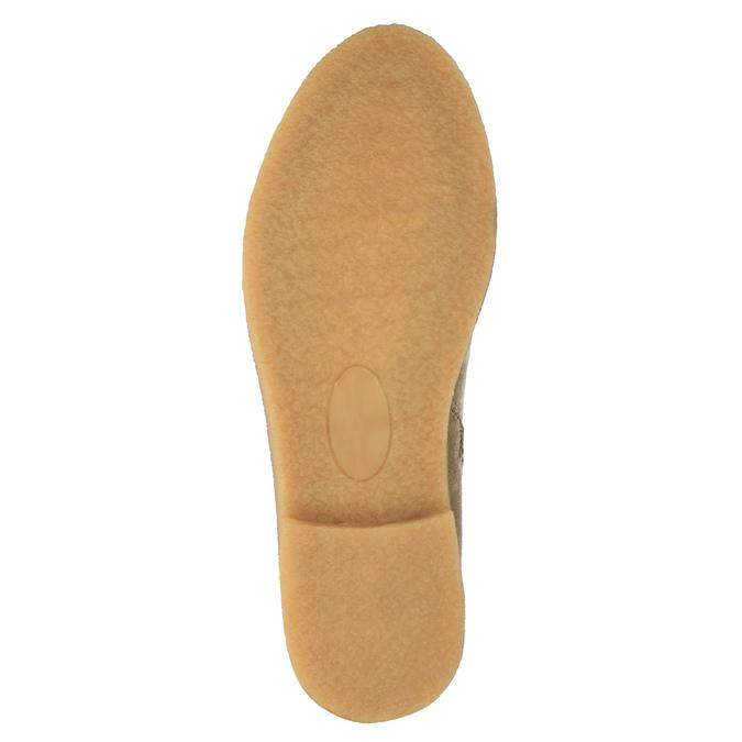 Kozačky nad kolena bata, béžová, 599-2602 - 26