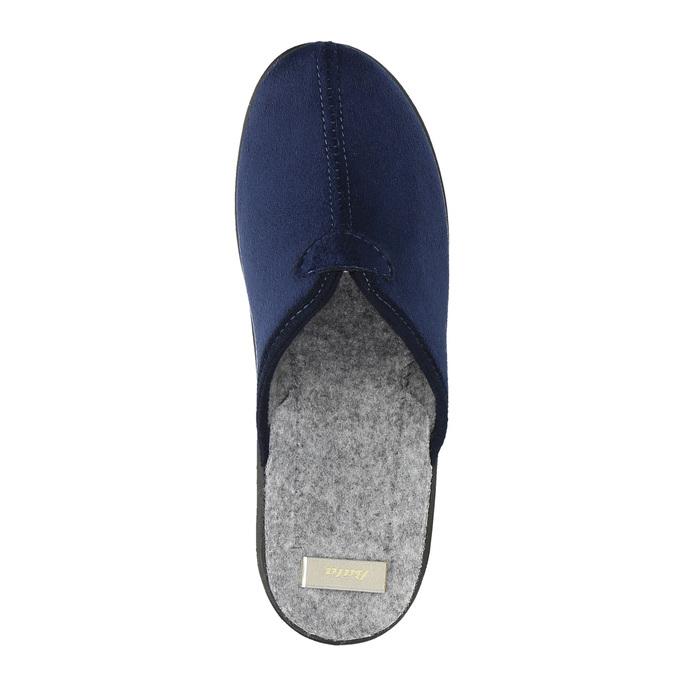 Dámská domácí obuv bata, modrá, 579-9602 - 19