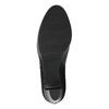Kotníčková obuv s leopardím vzorem bata, černá, 796-6610 - 26