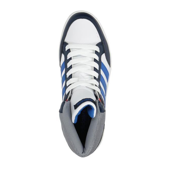 Dětské kotníčkové tenisky adidas, bílá, 401-1231 - 19