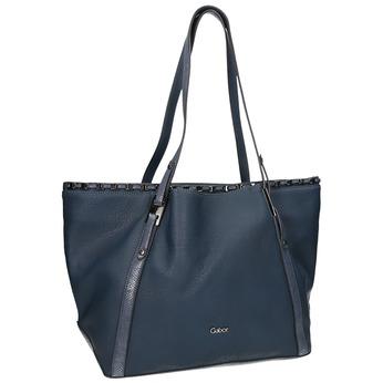 Dámská kabelka  v Shopper stylu gabor-bags, modrá, 961-9006 - 13