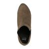Kotníčkové kozačky na podpatku s pružnými boky bata, béžová, 799-2601 - 19