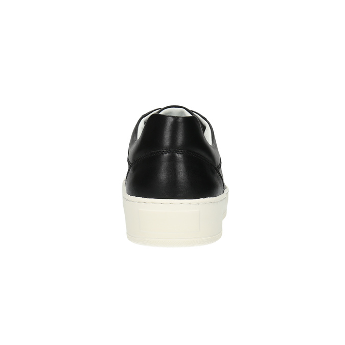 Ležérní kožené tenisky bata, černá, 844-6629 - 17