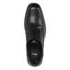 Pánské kožené polobotky bata, černá, 824-6744 - 19