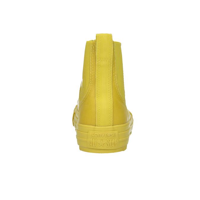 Žluté kotníčkové tenisky dámské converse, žlutá, 541-8080 - 17