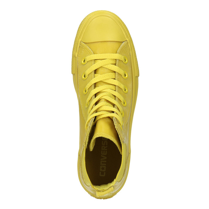 Žluté kotníčkové tenisky dámské converse, žlutá, 541-8080 - 19