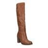 Kozačky na širokém podpatku bata, hnědá, 791-4612 - 13
