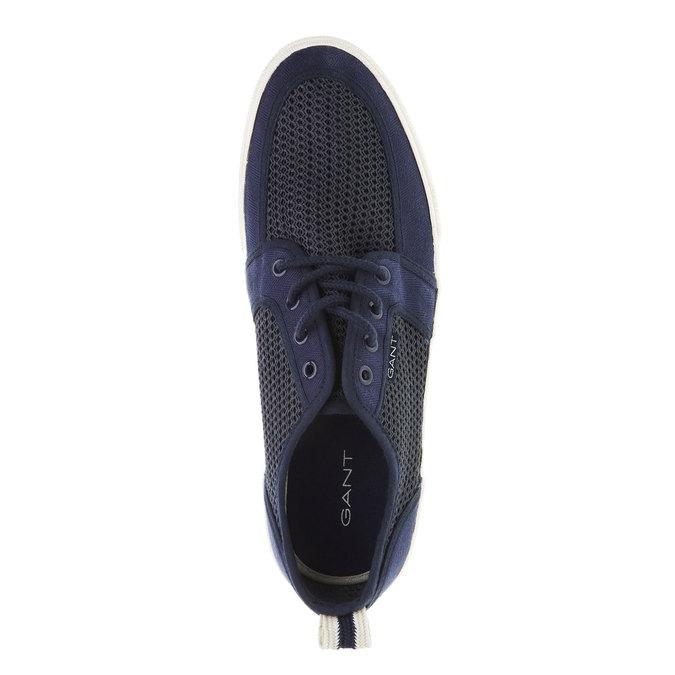 Pánské ležérní tenisky gant, modrá, 849-9018 - 19