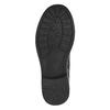Dívčí kotníčková obuv s přezkami mini-b, černá, 391-6260 - 26