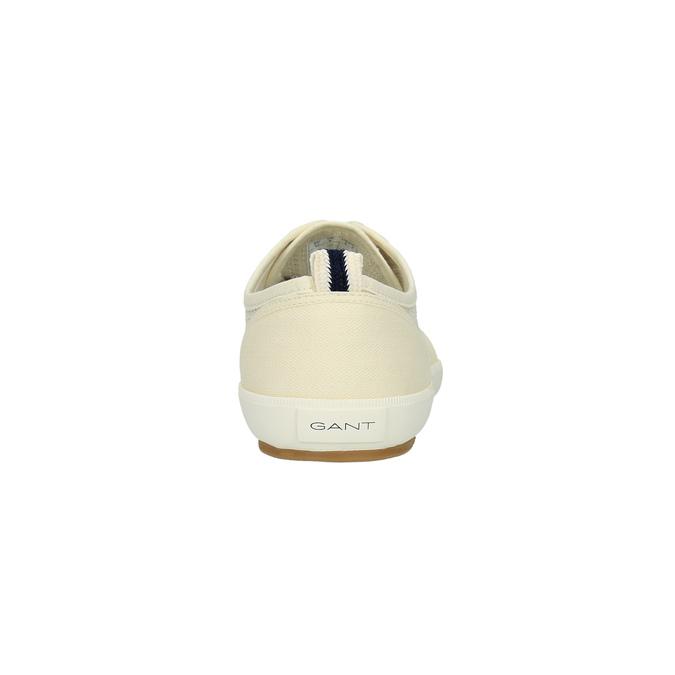 Ležérní pánské tenisky gant, bílá, 849-1018 - 17