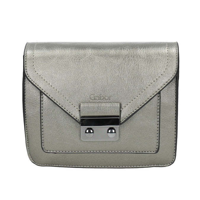Stříbrná Crossbody kabelka gabor-bags, stříbrná, 961-1008 - 26