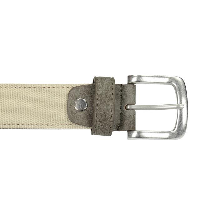Ležérní textilní opasek bata, béžová, 959-8261 - 26