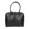Černá kožená kabelka s pevnými uchy royal-republiq, černá, 964-6014 - 19