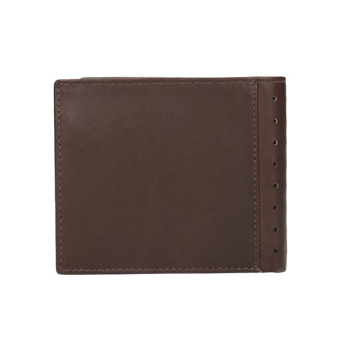 Pánská kožená peněženka bata, hnědá, 944-4175 - 19