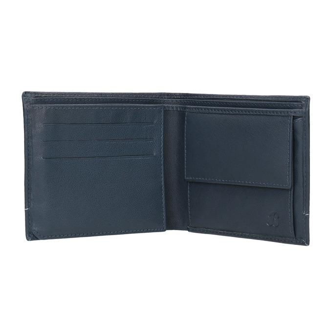 Pánská kožená peněženka bata, modrá, 944-9173 - 15