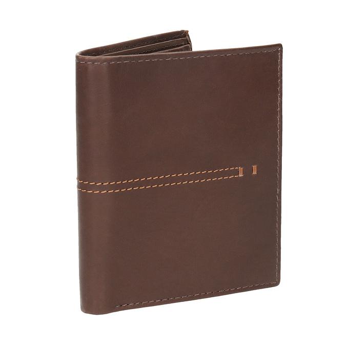 Prošívaná pánská peněženka bata, hnědá, 944-3176 - 13
