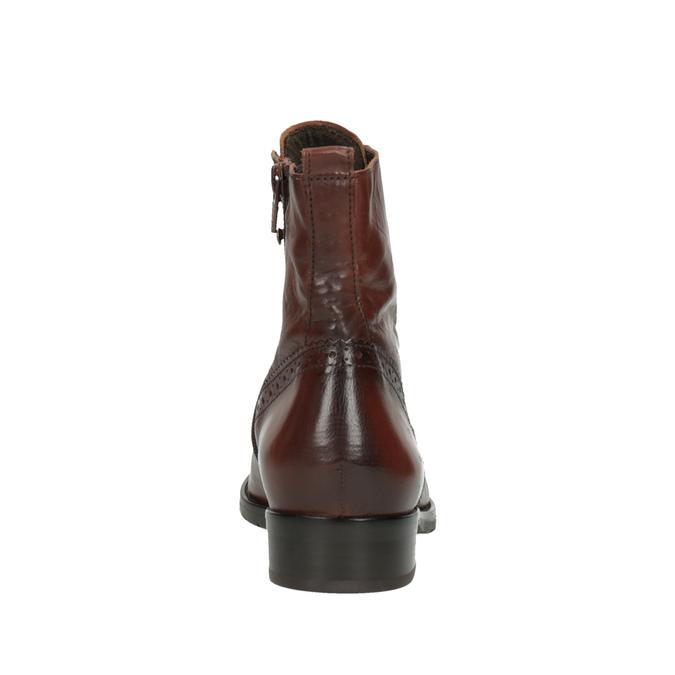 Dámská kotníčková obuv gabor, hnědá, 694-3003 - 17
