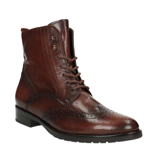 Dámská kotníčková obuv gabor, hnědá, 694-3003 - 13