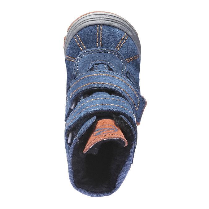 Dětské kotníčkové tenisky richter, fialová, 193-9003 - 19