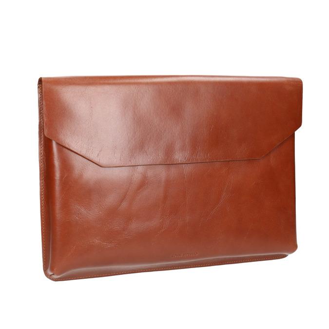 Kožená taška na dokumenty royal-republiq, hnědá, 964-3009 - 13