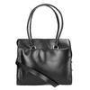 Kožená kabelka s odnímatelným popruhem royal-republiq, černá, 964-6018 - 19
