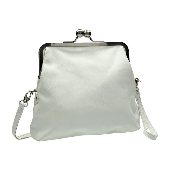 Dámská kožená kabelka sticksandstones, bílá, 964-1020 - 13