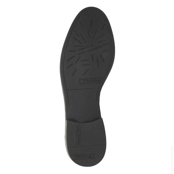 Dámské kožené Chelsea Boots bata, černá, 596-6607 - 26