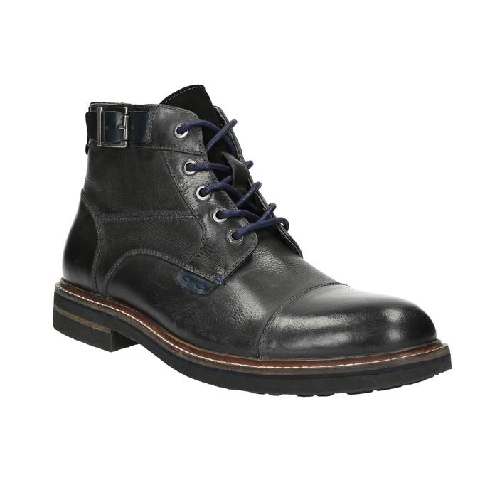 Pánská kotníčková obuv bata, černá, 894-6651 - 13