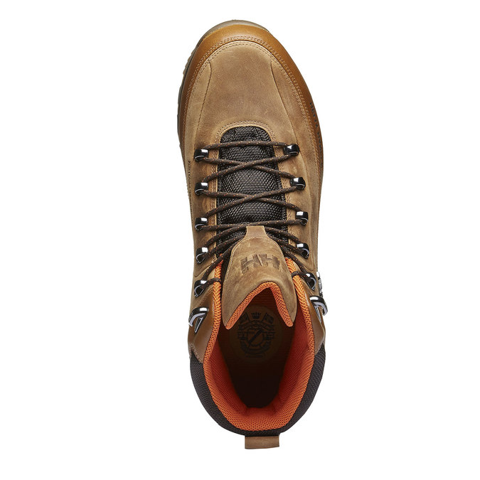 Kožené zimní boty ke kotníkům helly-hansen, hnědá, 894-3032 - 19