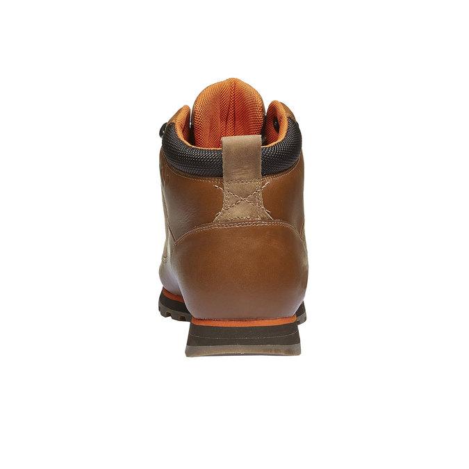 Kožené zimní boty ke kotníkům helly-hansen, hnědá, 894-3032 - 17